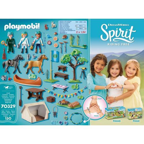 PLAYMOBIL® 70329 Camps de vacances