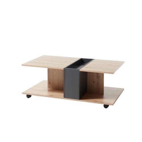 Tweekleurige salontafel