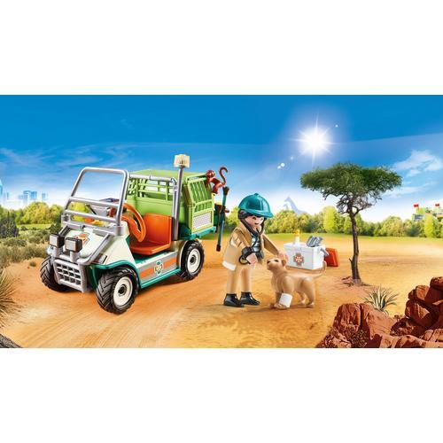 PLAYMOBIL® 70346 Vétérinaire et véhicule tout terrain