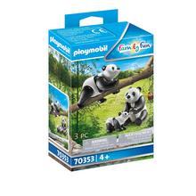 PLAYMOBIL® 70353 2 panda's met baby