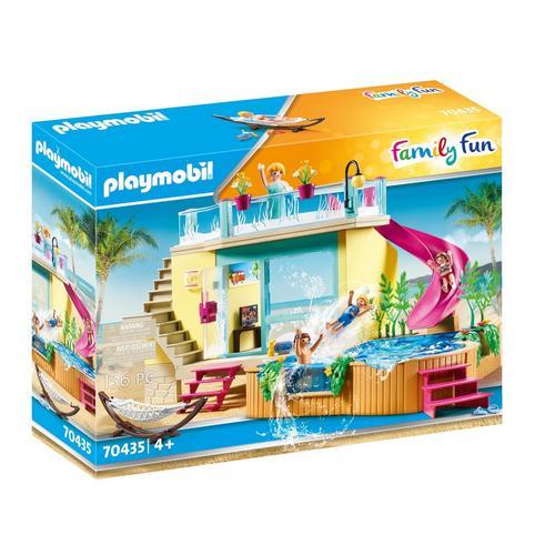 PLAYMOBIL® 70435 Bungalow avec piscine