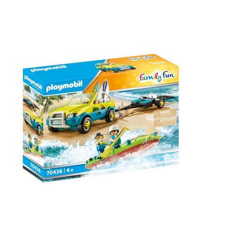 PLAYMOBIL® 70436 Voiture avec canoë