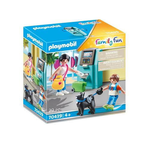 PLAYMOBIL® 70439 Vakantiegangers met geldautomaat