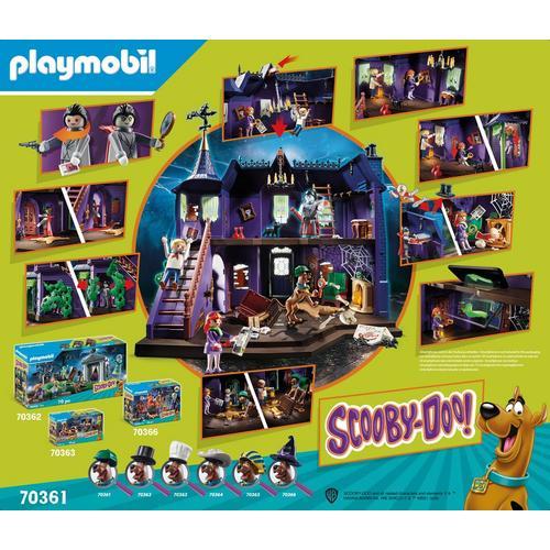 PLAYMOBIL® 70361 SCOOBY-DOO! Histoires dans le Manoir Hanté