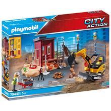 PLAYMOBIL® 70443 Minigraafmachine met bouwonderdeel