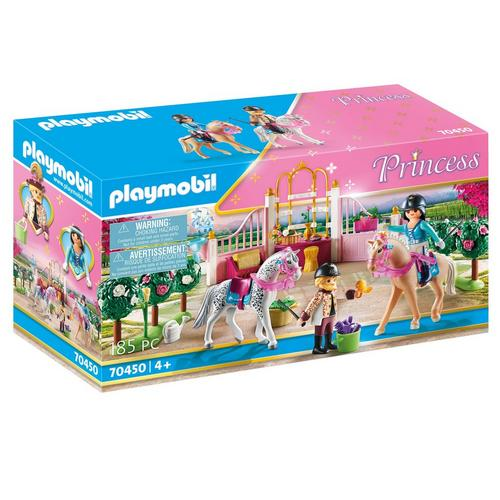 PLAYMOBIL® 70450 Princesse avec chevaux et instructeur