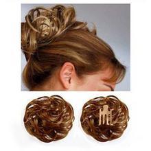 Haarstukje met knotje