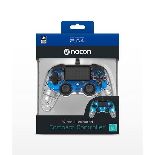 Manette filaire compacte NACON pour PS4