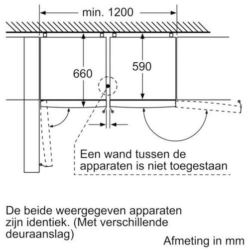 Koel-vriescombinatie BOSCH KGN397LEP