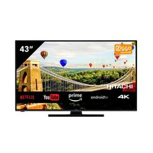 TV LED Ultra HD/4K smart 108 cm HITACHI 43HAK6152
