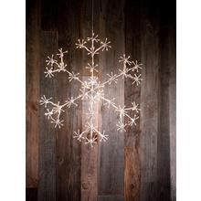 Flocon de neige à éclairage LED
