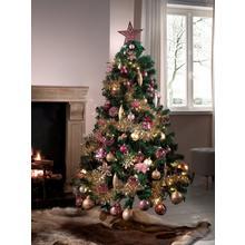 Kerstboom + decoratiepakket