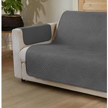 Protège-canapé Bicolore pour 2 places