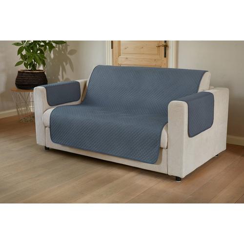 Protège-canapé Bicolore pour 3 places