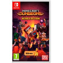 Jeu Minecraft Dungeons Hero Edition pour Nintendo Switch