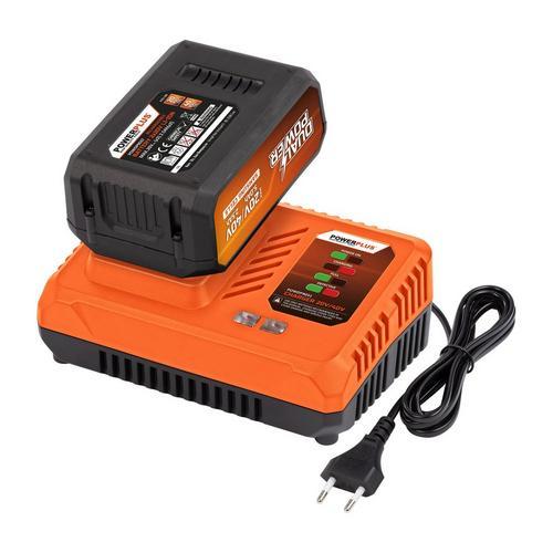 Lader + batterij 40 V Samsung 2,5 Ah POWERPLUS POWDP9064
