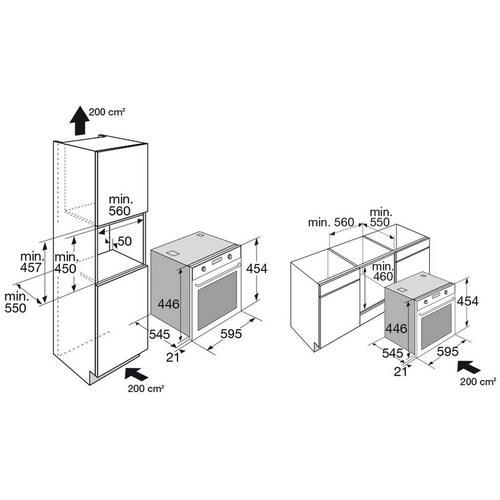 Inbouwoven met microgolffunctie ETNA CM751ZT