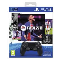 Manette sans fil DualShock 4 PS4 + FIFA 21