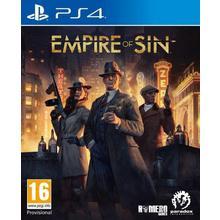 Jeu Empire of Sin pour PS4