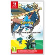 Spel Pokémon Sword + uitbreidingspas voor Nintendo Switch