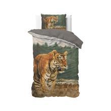 Dekbedovertrekset Nature tiger taupe