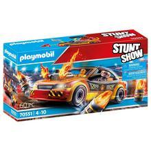 PLAYMOBIL® 70551 Stuntshow Voiture crash test avec mannequin de PLAYMOBIL