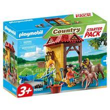 PLAYMOBIL® 70501 Starter Pack Box et poneys