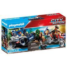 PLAYMOBIL® 70570 Politie SUV: achtervolging van de schattenrovers