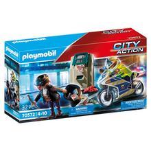 PLAYMOBIL® 70572 Politiemotor: achtervolging van de geldrover