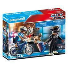 PLAYMOBIL® 70573 Policière et voleur