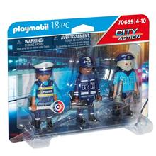 PLAYMOBIL® 70669 Équipe de policiers