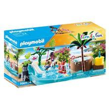 PLAYMOBIL® 70611 Pataugeoire avec bain à bulles
