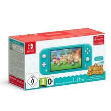 Nintendo Switch Lite + jeu Animal Crossing + Nintendo Switch Online (3 mois)
