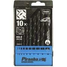 Cassette de forets à métal HSS BLACK+DECKER Piranha X56030-QZ