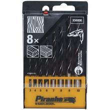 Cassette de forets hélicoïdaux à bois BLACK+DECKER Piranha X56006-QZ