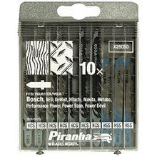 Cassette de lames de scie sauteuse BLACK+DECKER Piranha X28050-XJ