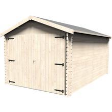 Garage en bois DÉCOR ET JARDIN
