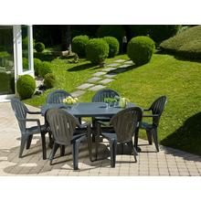 Table de jardin GROSFILLEX Ibiza 165 cm