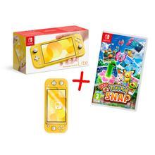 Pack Nintendo Switch Lite console + spel Pokémon New Snap + HORI screen filter