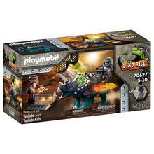 PLAYMOBIL® 70627 Tricératops et soldats