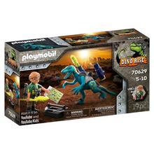 PLAYMOBIL® 70629 Uncle Rob: bewapenen voor de strijd