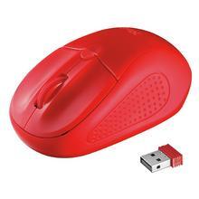 Draadloze muis TRUST Primo (rood)