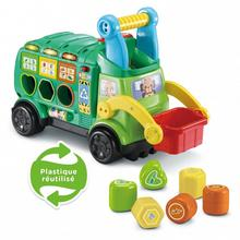 Maxi camion poubelle Recyclo'Formes VTECH BABY