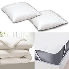 Lot de linge de lit pour lit 140 x 200 cm