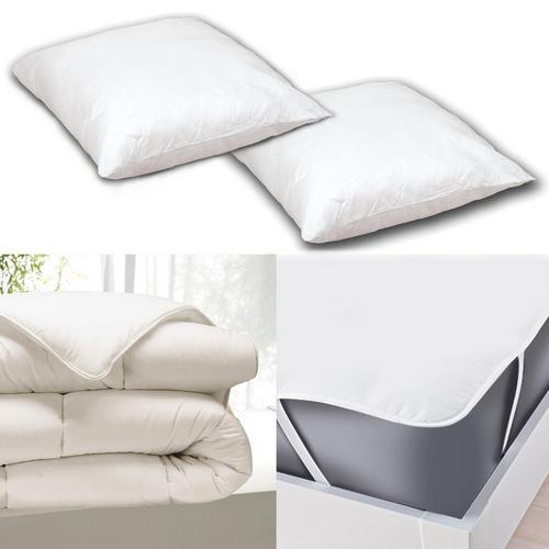 Bedlinnenset voor bed 160 x 200 cm