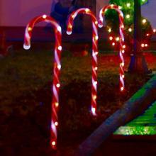 Lot de 8 lampes LED 'Sucre d'orge'