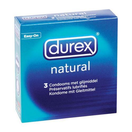 3 condooms Classic Natural DUREX
