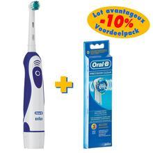 Lot de brosse à dents électrique + 3 brossettes Precision Clean ORAL-B