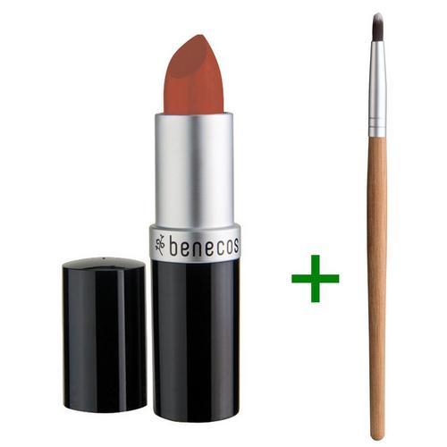 Set lippenstift + penseel BENECOS