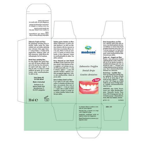 Druppels voor de tanden (1 flesje)
